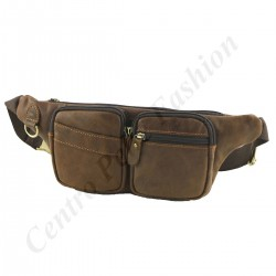 Leather Bum Waist Bag - 2027 - Genuine Leather Bags