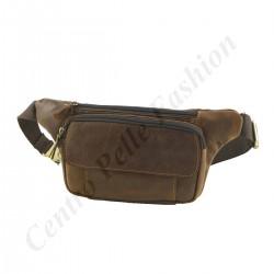Gürteltasche aus Echtem Leder - 2031 - Echtes Leder Taschen