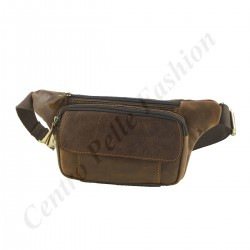 Leather Man Bum Bag - 2031 - Genuine Leather Bags