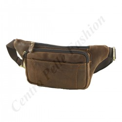 Leather Waist Bum Bags - 2032 - Genuine Leather Bag