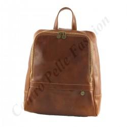 Leder Rucksack - 3008 - Echtes Leder Taschen