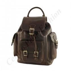 Echtem Leder Rucksack - 3007 - Echtes Leder Taschen