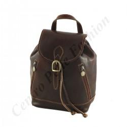 Lederrucksack - 3004 - Klein - Echtes Leder Taschen