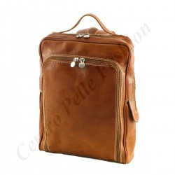Echtem Leder Rucksack - 3017 - Echtes Leder Taschen