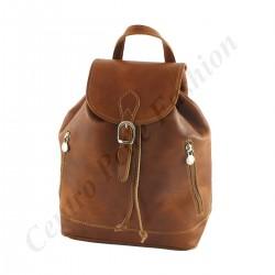Leder Rucksack - 3004 - Groß - Echtes Leder Taschen