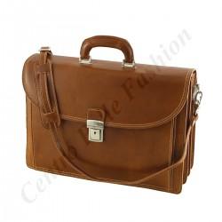 Leder Businesstasche - 4008 - Echtes Leder Taschen