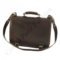 Leather Briefcase - 4001 - Genuine Leather Bags