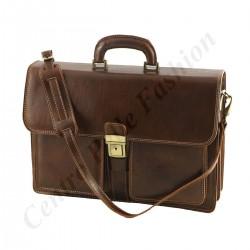 Business Echtleder Aktentasche - 4025 - Echtes Leder Taschen