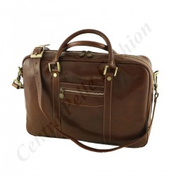 Leather Business  Briefcase - 4003 - Genuine Leather Bags