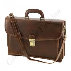 Aktentasche aus Echtleder - 4023 - Echtes Leder Taschen