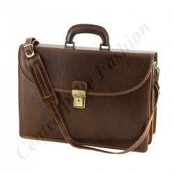 Aktentaschen aus Echtleder - 4024 - Echtes Leder Tasche
