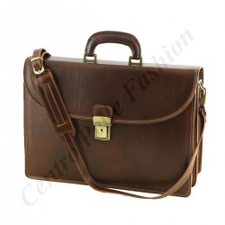 Genuine Leather Briefcases - 4024 - Genuine Leather Bag