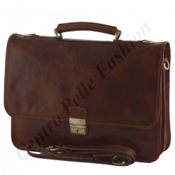 Leather Business  Briefcase - 0010 - Luxury