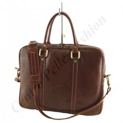 Aktentasche Leder - 4032 - Echtes Leder Taschen
