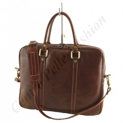 Genuine Leather Briefcase - 4032 - Genuine Leather Bags