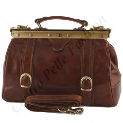Leather Medical Bag - 5003 - Genuine Leather Bags