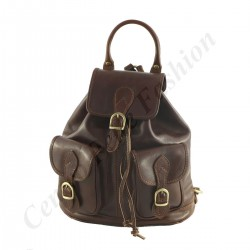 Leather Backpack - 0001 - Luxury